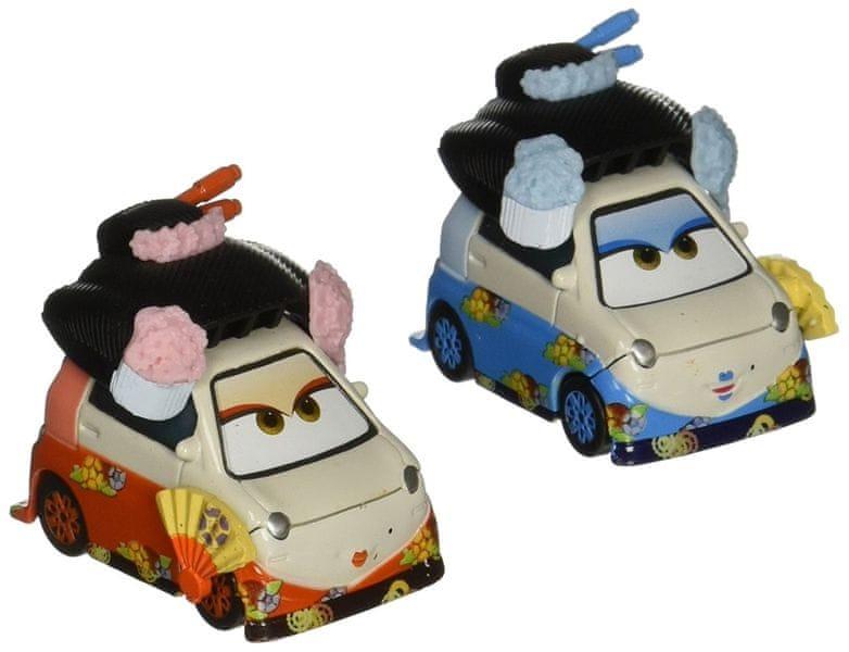 Cars Kolekce auto 2 ks Okuni a Shigeko