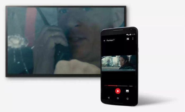 ovládání z telefonu, tabletu