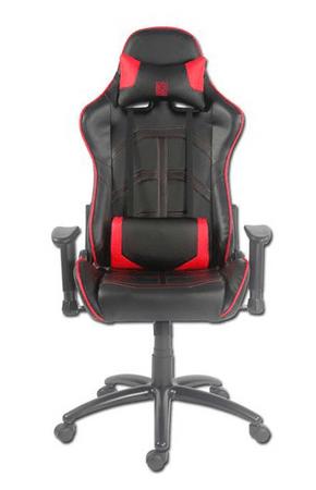 LC Power stol Gaming LC-GC-1, črn/rdeč