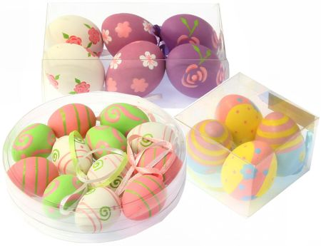 Seizis velikonočni set pisanih jajčkov, 22 kosov