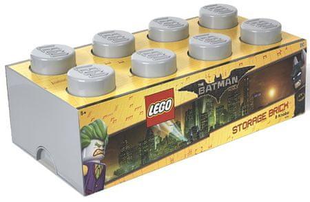 LEGO® škatla za shranjevanje Batman, 250 x 500 x 180 mm, siva