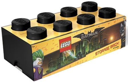 LEGO Batman úložný box 250 x 500 x 180 mm - černá