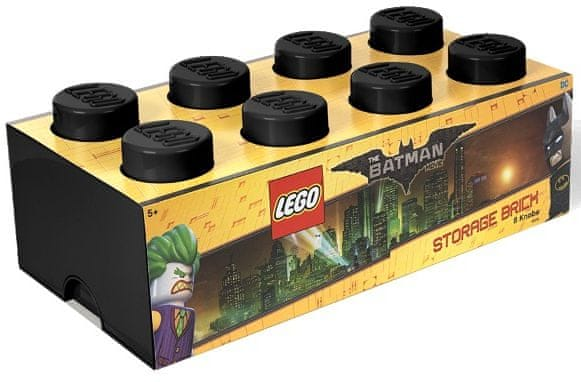 LEGO® Batman úložný box 250 x 500 x 180 mm - černá