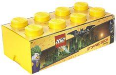 LEGO Batman úložný box 250 x 500 x 180 mm - žlutá - rozbaleno