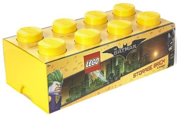 LEGO® Batman úložný box 250 x 500 x 180 mm - žlutá