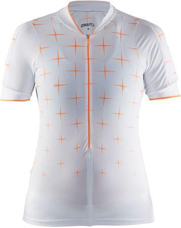 Craft Belle Glow Női kerékpáros póló, Fehér, M