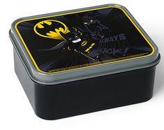 LEGO škatla za malico Batman, črna