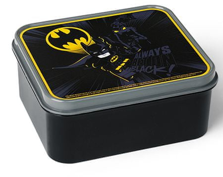 LEGO Batman box na svačinu - černá