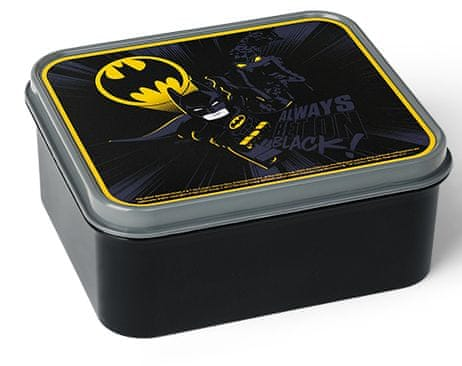 LEGO® Batman box na svačinu - černá