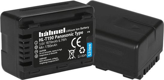 Hähnel VW-VBT190 pro Panasonic