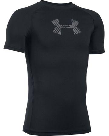 Under Armour koszulka Armour SS Black Graphite YM