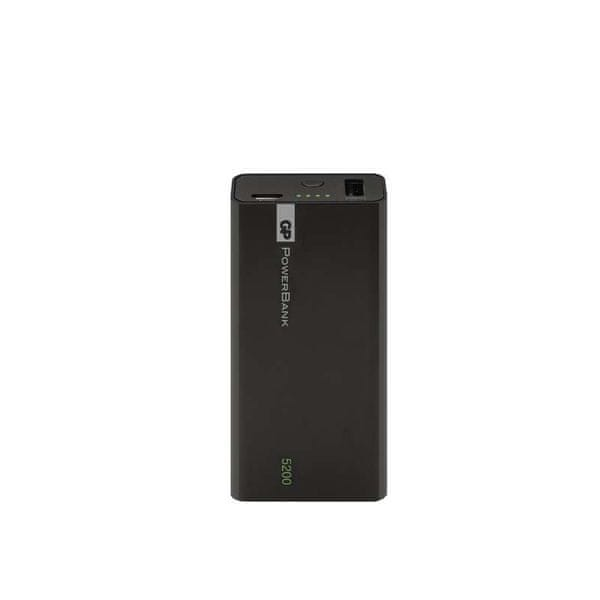 GP Powerbank 5200 mAh (1C05) Black