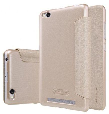 Nillkin etui z klapką Sparkle Folio (Xiaomi Redmi 3), złoty