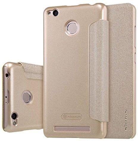 Nillkin Kryt Sparkle Folio (Xiaomi Redmi 3 Pro), zlatá
