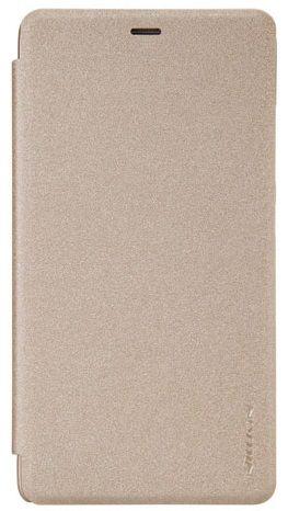 Nillkin Kryt Sparkle Folio (Xiaomi Redmi Note 3), zlatá