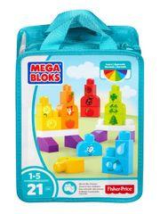 MEGA BLOKS Klocki Kolorowa układanka DXH33