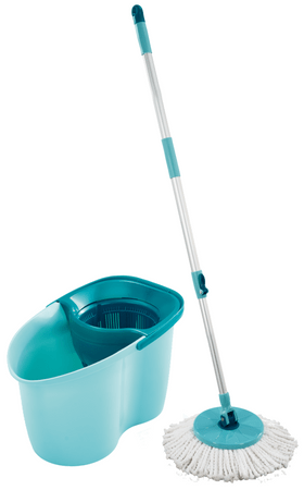Leifheit set za čiščenje tal Clean Twist Disc Mop Active