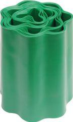 Flo Plastový vlnitý okraj trávníku 20x900cm tm.zelený (88702)