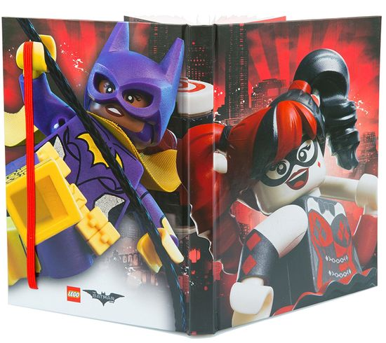 LEGO Batman Movie 51731 Zápisník - Harley Quinn/Batgirl