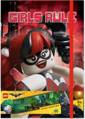 LEGO® Batman Movie Zápisník - Harley Quinn/Batgirl