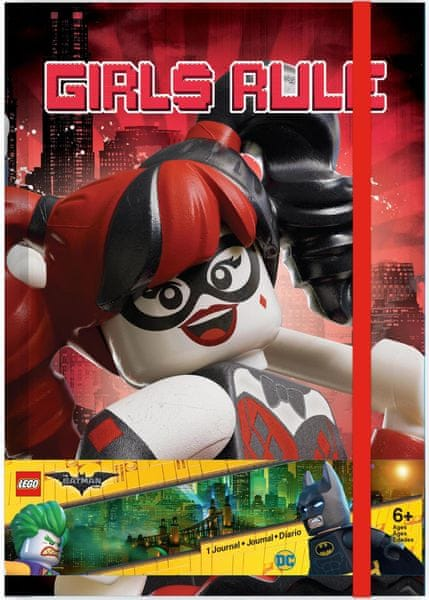 LEGO® Batman Movie Zápisník - Harley Quinn/Batgirl