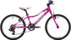 """ROCK MACHINE Rower Dziecięcy 20"""" Catherine 20 pink/white/purple 2017"""