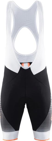 Craft Cyklokalhoty Gran Fondo Černá/Oranžová XL