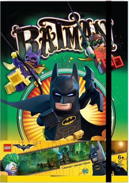LEGO® Batman Movie Zápisník - Batman