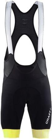 Craft kolesarske hlače Verve Glow, črne, XL