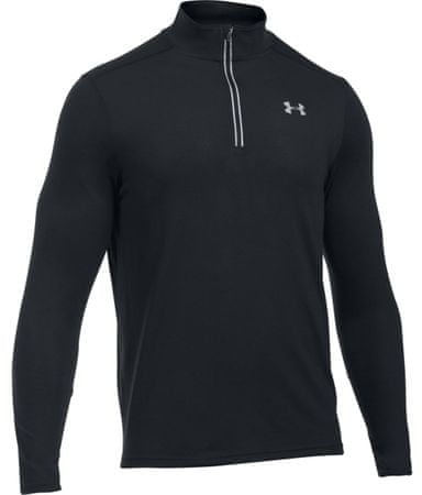 Under Armour Threadborne Streaker 1/4 Zip Black Black Reflective XL