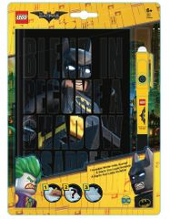 LEGO® Batman Movie Zápisník s neviditeľným perom - Batman