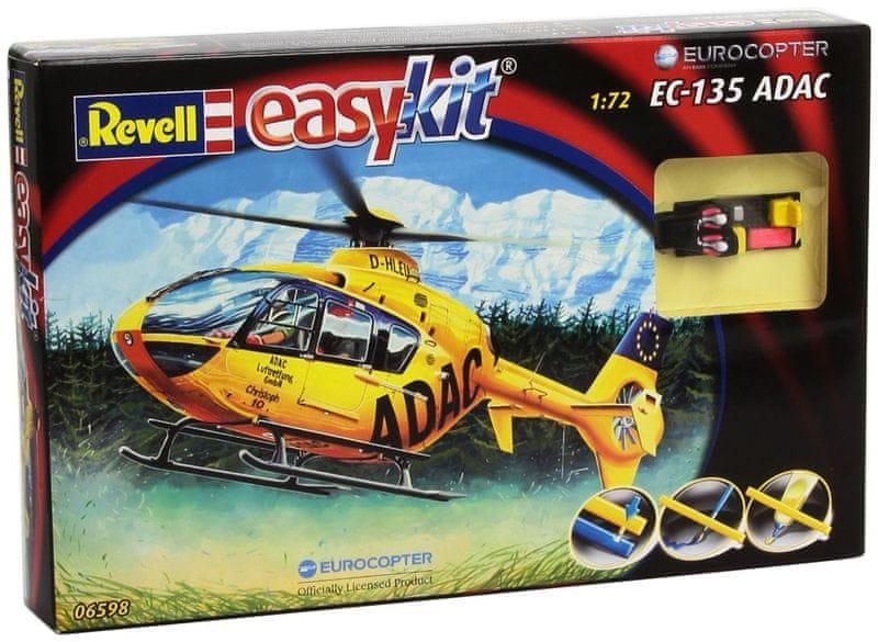 Revell EasyKit vrtulník 06598 - EC 135 ADAC