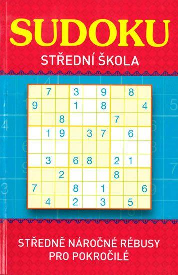Sudoku - Střední škola (červená)
