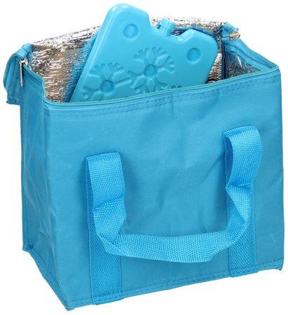 Cool It torba chłodząca z wkładem chłodzącym 7 l, niebieska