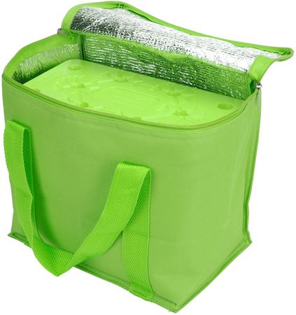 Cool It torba chłodząca z wkładem chłodzącym 7 l, zielona