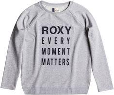 Roxy ženska majica Turn and go J, siva