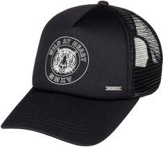 ROXY czapka z daszkiem Truckin J Hats Anthracite