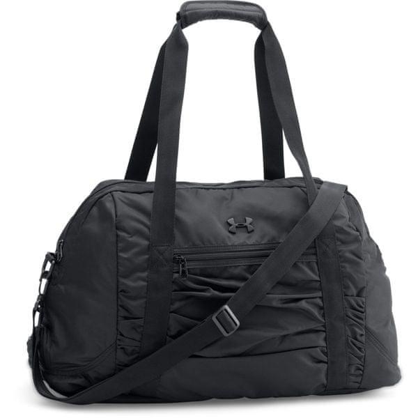 Under Armour The Works Gym Bag Black Black Silver