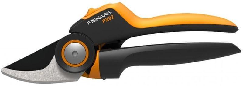 Fiskars Nůžky zahradní převodové PowerGear X, dvoučepelové (M) PX92 (1023630)