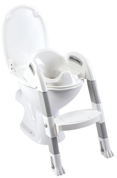 ThermoBaby Židlička na WC Kiddyloo, Bílá