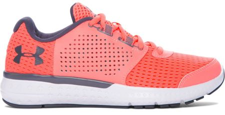 Under Armour buty W Micro G Fuel RN London Orange White Rhino Gray 38,5 (7,5)