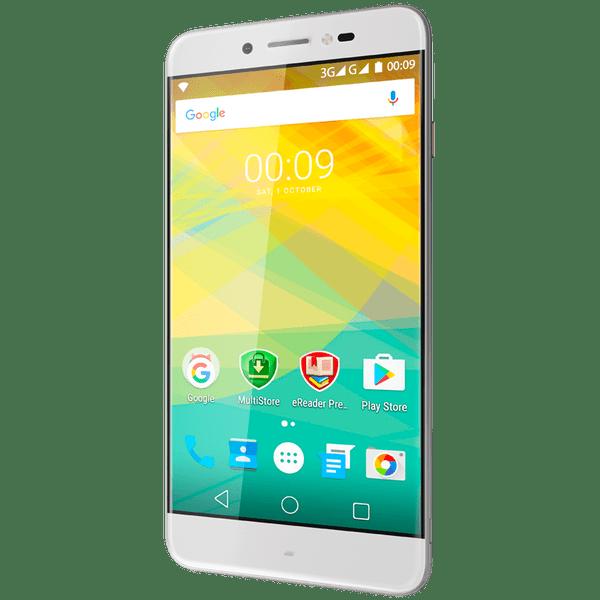 Prestigio Grace Z5, Dual SIM, stříbrný