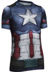 Under Armour Captain America Suit SS Midnight Navy Wh