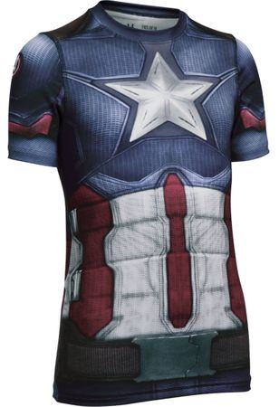 Under Armour otroška majica Captain America Suit SS, YS