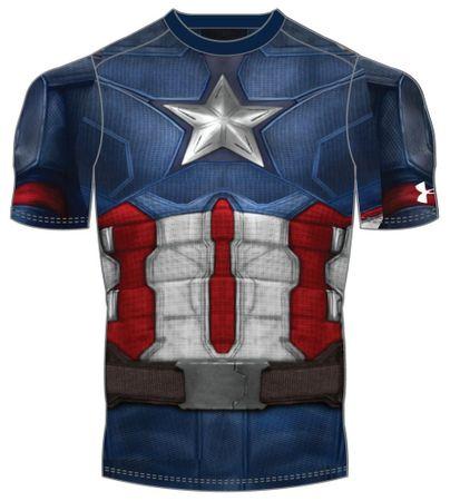 Under Armour Captain America Suit SS Gyermek póló 31f51e3058