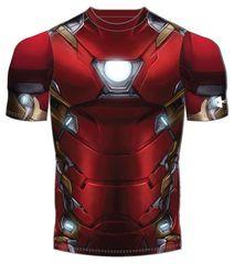 Under Armour otroška majica Iron Man Suit SS, rdeča