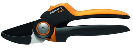 FISKARS Nožnice záhradné prevodové PowerGear X, jednočepeľové (L) PX93 (1023629)