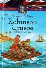 Dvojjazyčné čtení Č-A - Robinson Crusoe