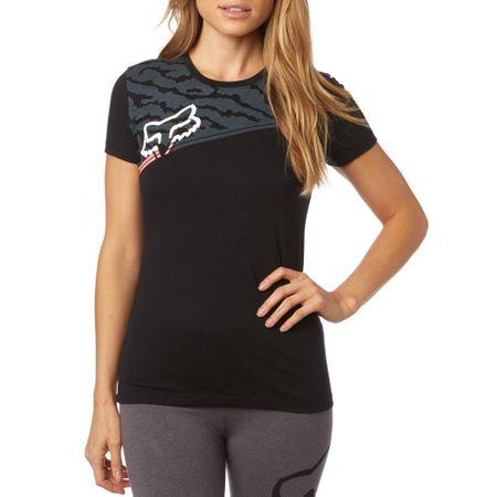 FOX ženska majica Activated Crew S črna