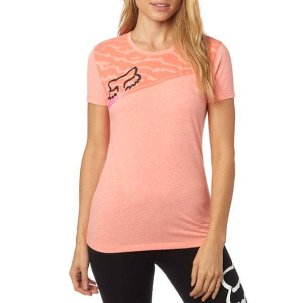 FOX dámské tričko Activated Crew XS lososová
